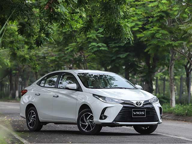 Giá xe Toyota Vios tháng 9/2021, hỗ trợ phí trước bạ lên đến 30 triệu đồng