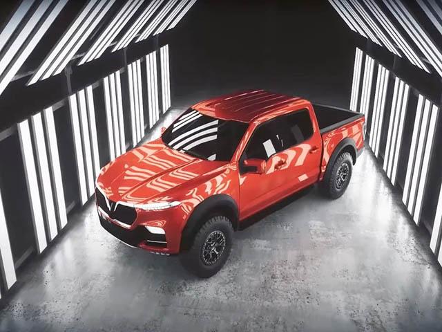 Chiêm ngưỡng concept xe VinFast bán tải và mui trần dưới dạng video