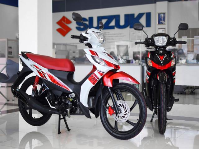 Phát thèm khi ngắm cận cảnh 2021 Suzuki Smash FI Next Edition