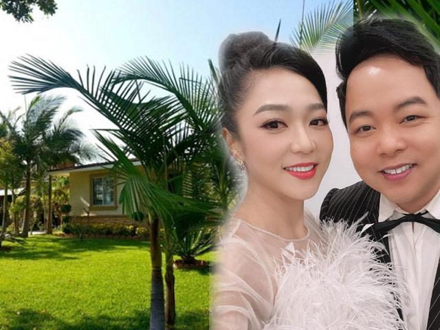 """Không gian sống của Quang Lê và """"nữ hoàng Bolero"""" sau tin đồn sắp cưới ở Mỹ"""
