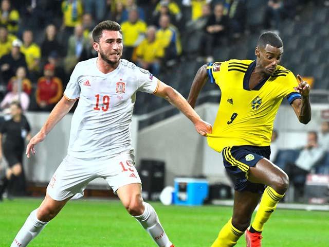 Video bóng đá Thụy Điển - Tây Ban Nha: Khởi đầu tưng bừng, cú sốc thua ngược (Vòng loại World Cup)