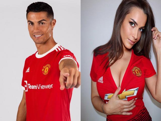 Ronaldo đã xuất hiện ở MU: Fan nữ quyến rũ hứa chiêu đãi ảnh nóng trận tái xuất