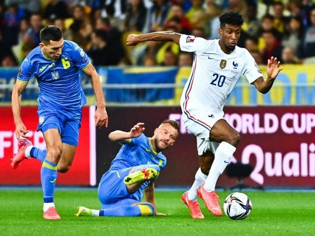 Video bóng đá Ukraine - Pháp: Siêu phẩm mở màn, bàn gỡ may mắn (Vòng loại World Cup)