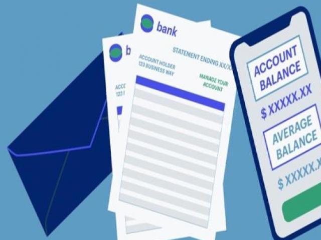 Sao kê tài khoản cần thủ tục gì, mất phí hay không?