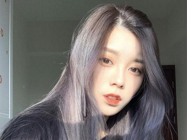 Xám chì - Màu tóc ảo diệu phá cách khiến giới trẻ yêu thích nhất hiện nay
