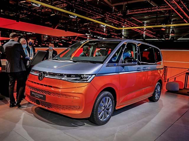 Volkswagen T7 Multivan lần đầu ra mắt toàn cầu