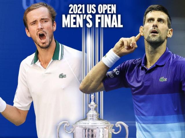 """Djokovic coi US Open là """"trận đấu cuộc đời"""", Medvedev """"không quan tâm"""""""
