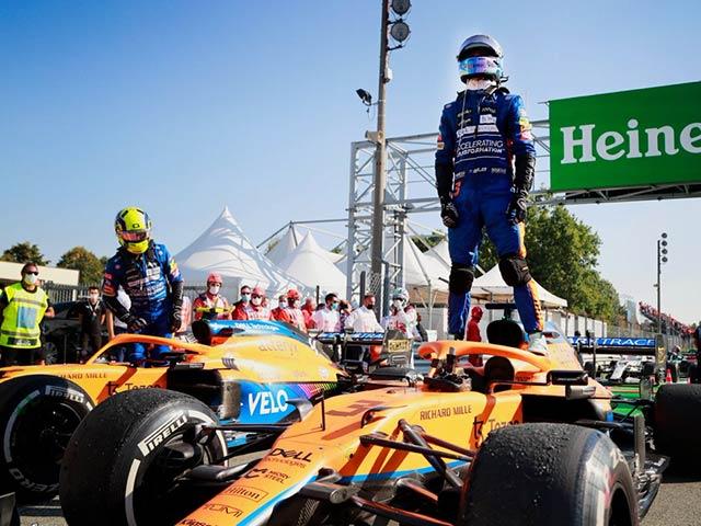 Đua xe F1, Italian GP: Hamilton - Verstappen va chạm và cùng bỏ cuộc, kỳ tích McLaren