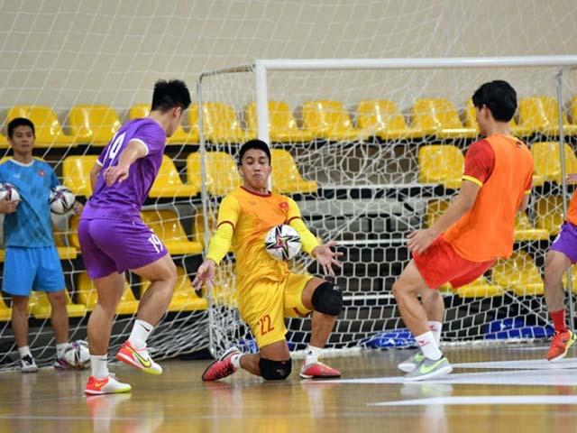 Xem trực tiếp futsal Việt Nam vs futsal Brazil trên kênh nào?