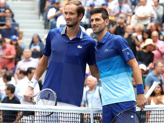 Video tennis Djokovic - Medvedev: Sụp đổ trước thiên đường, ngôi vương đón chủ mới (Chung kết US Open)