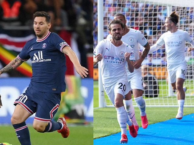 """Nhận định trận HOT Cúp C1: PSG & Messi """"nóng máy"""", Man City thị uy sức mạnh"""