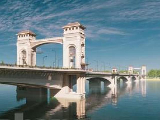 """Tận thấy phong cách """"Xứ Đông Dương"""" trong thiết kế cầu Trần Hưng Đạo vượt sông Hồng"""