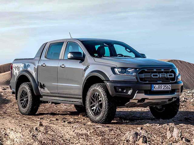 Giá xe Ford Ranger Raptor lăn bánh tháng 9/2021