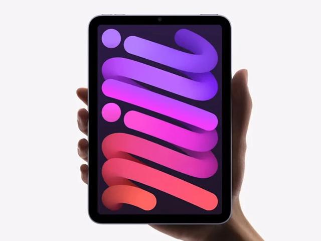 iPad Mini 6 chính thức được công bố với thiết kế tuyệt vời, kết nối 5G
