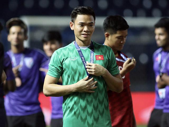 Thầy Park gọi Nguyên Mạnh lên ĐT Việt Nam cạnh tranh với Tấn Trường, Văn Lâm