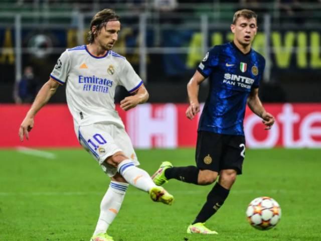 Video cúp C1 Inter Milan - Real Madrid: Phối hợp tuyệt đỉnh, vỡ òa phút 89