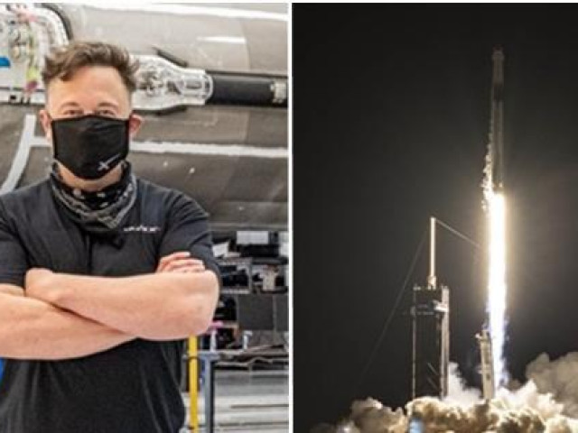 Elon Musk lại làm nên lịch sử: Phóng tàu vũ trụ đầu tiên chở toàn người bình thường