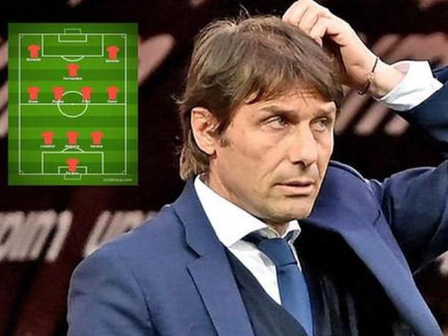 Đội hình MU biến động mạnh nếu Conte thay thế Solskjaer: Ronaldo sẽ đá ở đâu?