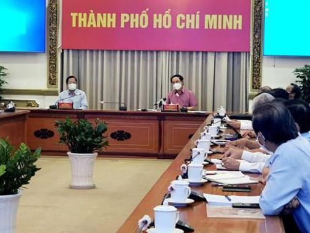 Bí thư TP.HCM Nguyễn Văn Nên: Chuẩn bị nhiều chiến lược để mở cửa TP.HCM