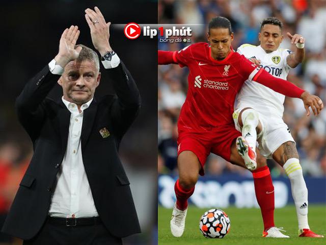 MU khó chia tay HLV Solskjaer, Liverpool quyết chiếm ngôi đầu Ngoại hạng Anh (Clip 1 phút Bóng đá 24H)
