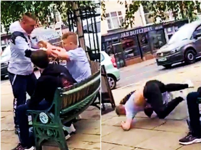 Gã trai bắt nạt thiếu niên 16 tuổi, xấu số gặp vô địch võ thuật thế giới