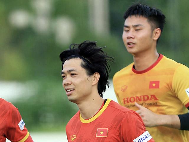 Công Phượng 2 lần lập công trong trận đấu ĐT Việt Nam đấu U22 Việt Nam
