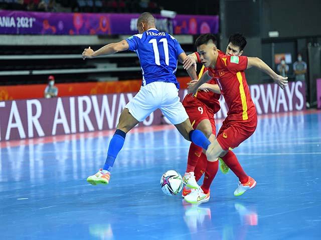 Trực tiếp bóng đá Việt Nam - CH Séc: Chống đỡ kiên cường, hiệp 1 mỹ mãn (Futsal World Cup)