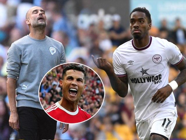 """Man City sảy chân khiến Pep tiếc Ronaldo, """"ngựa ô"""" Brentford mơ gây sốc Liverpool - Chelsea (clip 1 phút Bóng đá 24H)"""