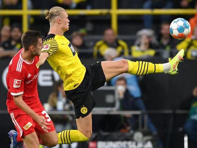 Video bóng đá Dortmund - Union Berlin: Mãn nhãn 6 bàn, cú đúp Haaland (Vòng 5 Bundesliga)