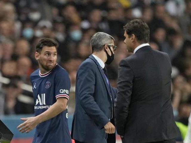 """Lộ hình ảnh về Messi gây lo lắng, HLV Pochettino làm đúng vẫn bị """"dằn mặt"""""""