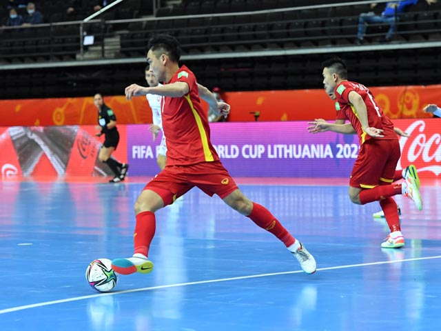ĐT futsal Việt Nam thăng tiến thần tốc, lọt top 40 bảng xếp hạng thế giới