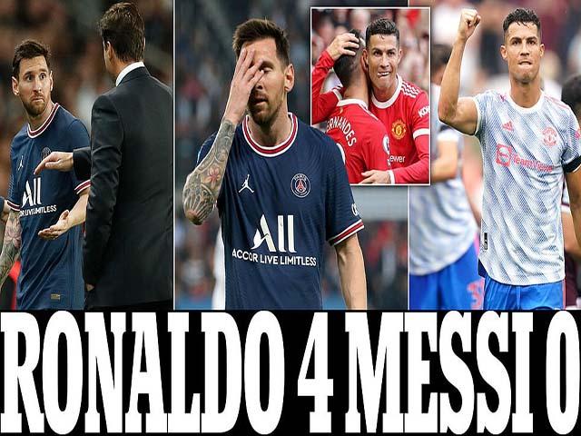 Ronaldo Messi 4-0: Cuộc đua Quả bóng vàng đổi chiều, CR7 mơ hồi sinh ở MU