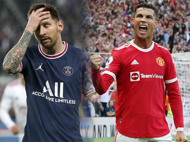 Ronaldo - Messi đá 3 trận ở đội mới: Người thăng hoa tuyệt đỉnh, kẻ đánh mất mình