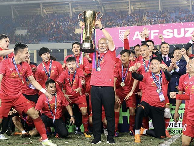 """ĐT Việt Nam vào bảng """"tử thần"""" AFF Cup, trung vệ """"trăm năm có một"""" lo thầy Park gặp khó"""