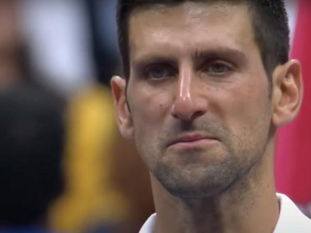 Thêm nguyên nhân khiến Djokovic rơi lệ, lỡ danh hiệu US Open 2021