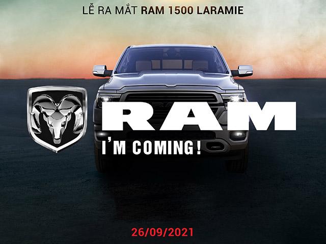 Hãng xe cơ bắp Mỹ RAM chốt ngày ra mắt thị trường Việt