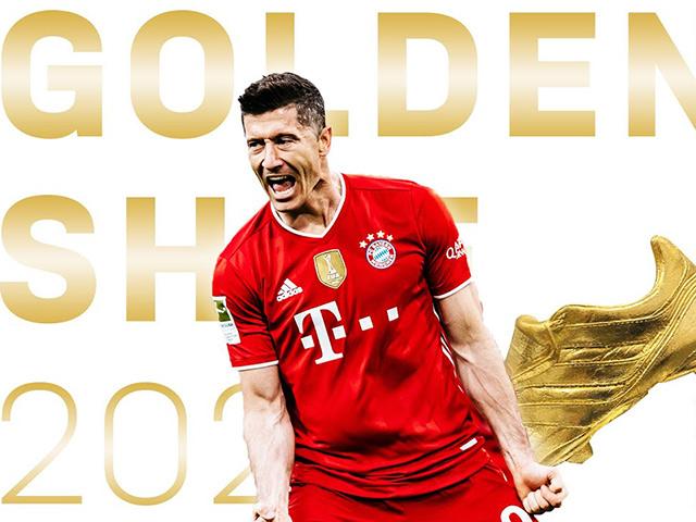 """Lewandowski giành Giày vàng, nói điều khiến Man City - Real Madrid """"sôi sục"""""""