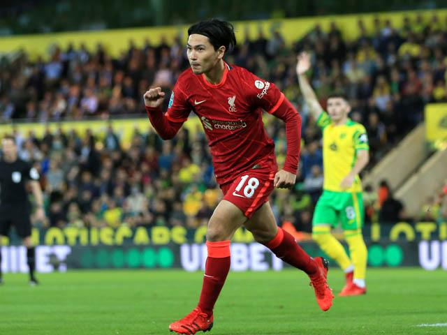 Video bóng đá Norwich - Liverpool: Cú đúp Minamino, vùi dập 3 bàn (League cup)