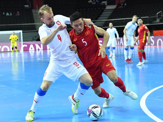 """Nhận định bóng đá ĐT Việt Nam - Nga: Tâm lý thoải mái, không ngại """"ông kẹ"""" (Futsal World Cup)"""
