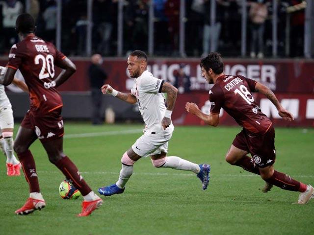 """Video bóng đá Metz - PSG: """"Người hùng"""" khó ngờ, 2 thẻ đỏ gây choáng (vòng 7 Ligue 1)"""