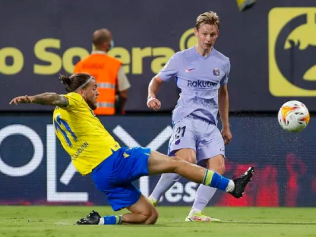 """Video bóng đá Cadiz - Barcelona: 2 thẻ đỏ bi kịch, Koeman tiến sát """"vực thẳm"""" (Vòng 6 La Liga)"""