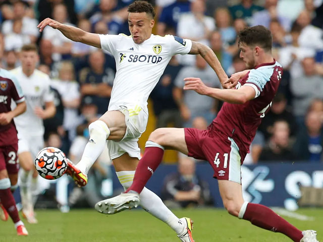 Video bóng đá Leeds United - West Ham: Bàn thắng phút 90, ngược dòng cảm xúc (Vòng 6 Ngoại hạng Anh)