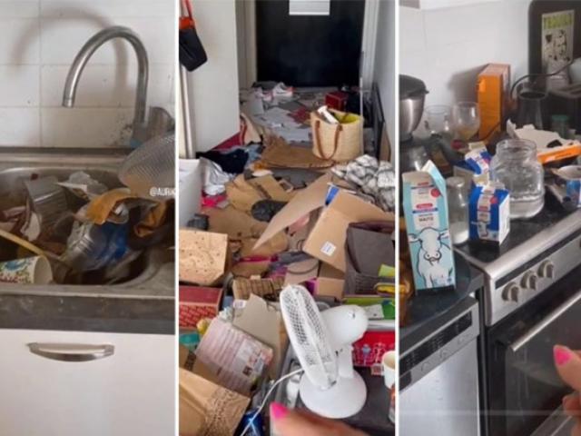 Clip: Cô gái thích dọn dẹp miễn phí những ngôi nhà nấm mốc gây sốc