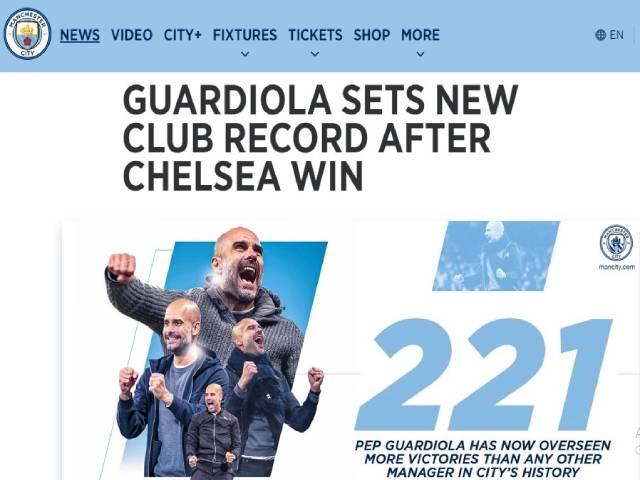 Man City hạ đẹp Chelsea: Trang chủ ca ngợi kỳ tích của Pep, báo Anh nể phục