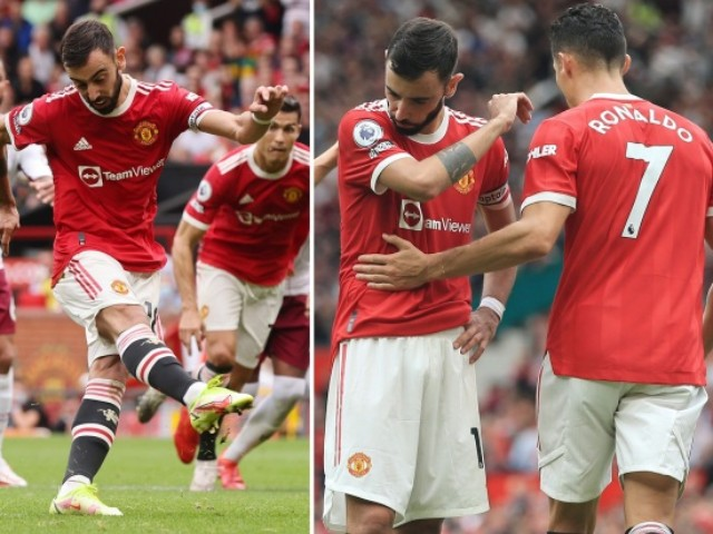 """Fernandes sút hỏng penalty khiến MU thua đau, Ronaldo bị tố là """"thủ phạm"""""""