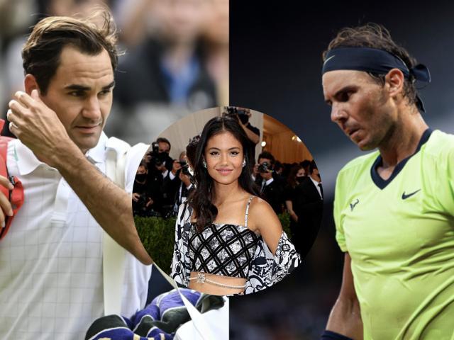 Federer và Nadal bị trù ẻo, mỹ nhân 18 tuổi Raducanu lại gây sốc (Tennis 24/7)