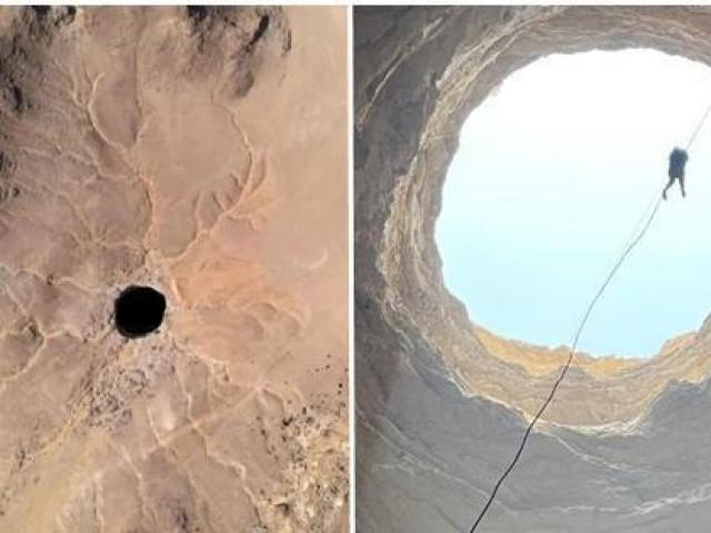 """Lần đầu tiên có người xuống tận đáy """"Giếng Địa ngục"""" ở Yemen, họ thấy dưới đó có những gì?"""