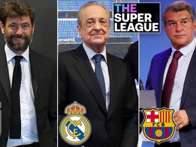 UEFA bỏ kiện Real, Barca và Juventus vụ Super League: Hết cửa cấm dự Cúp C1