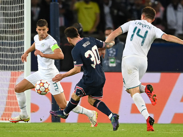 Video bóng đá PSG - Man City: Phủ đầu bất ngờ, Messi định đoạt (Cúp C1)