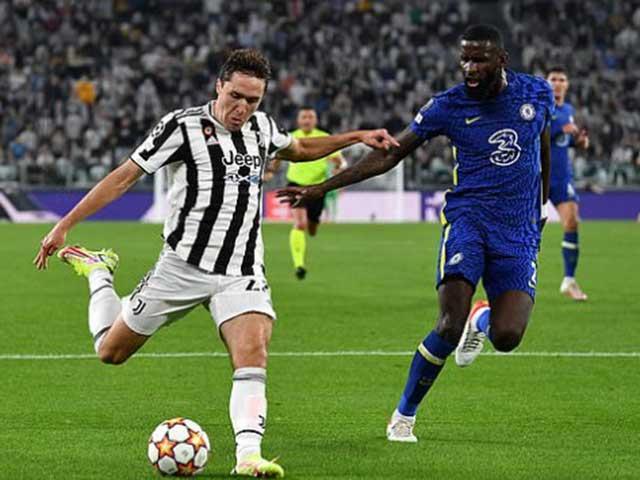 """Video bóng đá Juventus - Chelsea: Thế trận một chiều, """"gáo nước lạnh"""" đầu hiệp 2 (Cúp C1)"""